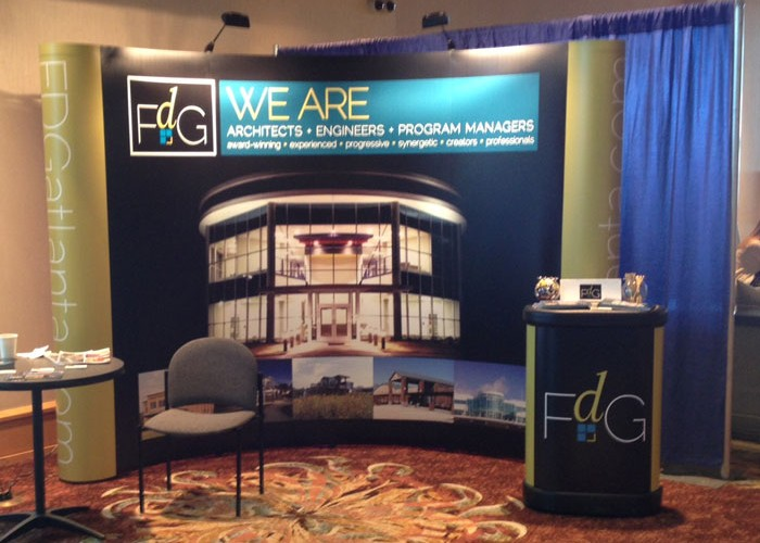 FDG Atlanta Tradeshow Booth